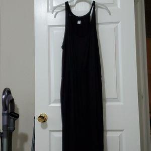 Old Navy Black racetrack dress